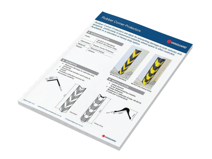 Download our Corner Protectors Spec Sheet