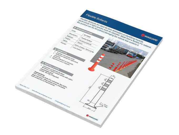 Download our Flexible Bollards Spec Sheet