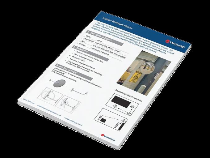 Download our Indoor Premium Mirror Spec Sheet
