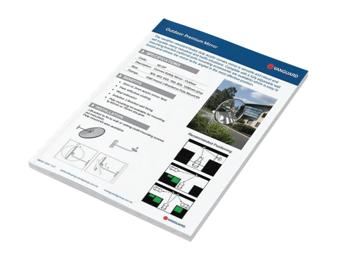 Download our Outdoor Premium Mirror Spec Sheet