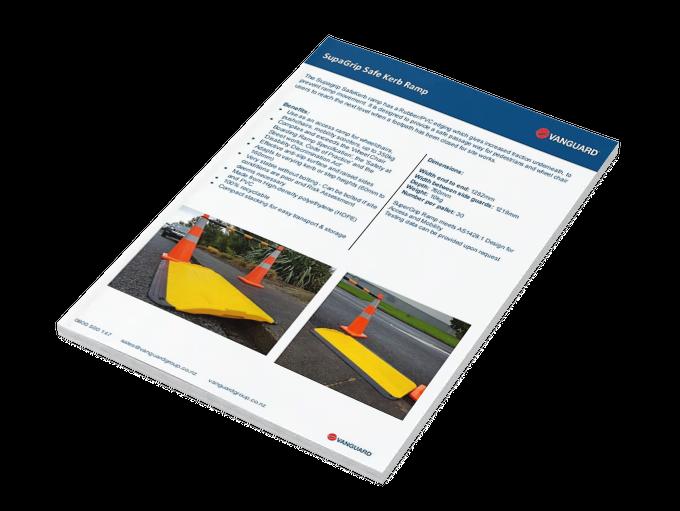 Download our SupaGrip Safe Kerb Ramp Spec Sheet