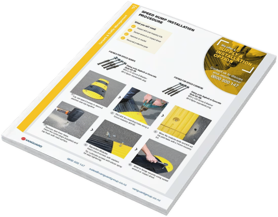 Download our Speed Hump Installation Guide