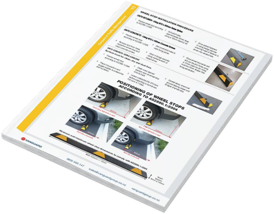 Download our Wheel Stop Installation Guide